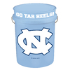 WinCraft Sports North Carolina University 5-Gallon Plastic Bucket