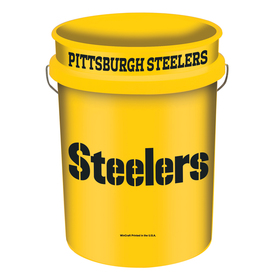WinCraft Sports Pittsburgh Steelers 5-Gallon Plastic Bucket