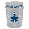 WinCraft Sports Dallas Cowboys 5-Gallon Plastic Bucket