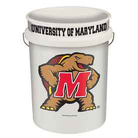 WinCraft Sports University Maryland 5-Gallon Plastic Bucket