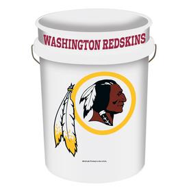 WinCraft Sports Washington Redskins 5-Gallon Plastic Bucket