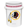 WinCraft Sports Washington Redskins 5-Gallon Plastic Bucket
