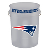 WinCraft Sports New England Patriots 5-Gallon Plastic Bucket