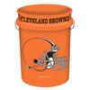 WinCraft Sports Cleveland Browns 5-Gallon Plastic Bucket