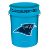WinCraft Sports Carolina Panthers 5-Gallon Plastic Bucket
