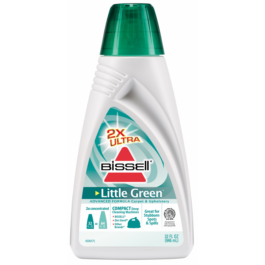 how to use bissell little green carpet cleaner