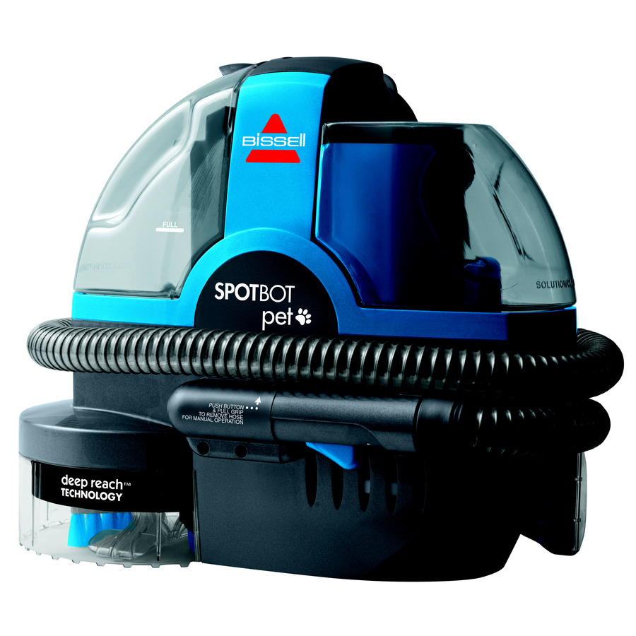 Shop BISSELL SpotBot Pet 0.234-Gallon Carpet Shampooer at ...