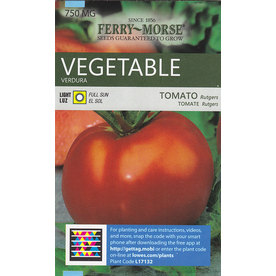 Ferry-Morse Tomato Rutgers Vegetable Seed Packet