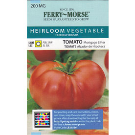 Ferry-Morse Tomato Mortgage Lifter Seed Packet