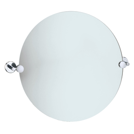 Gatco 19-1/2-in H x 19-1/2-in W Latitude 2 Round Frameless Bath Mirror with Beveled Edges