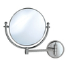 Gatco Chrome Brass Wall-Mounted Vanity Mirror