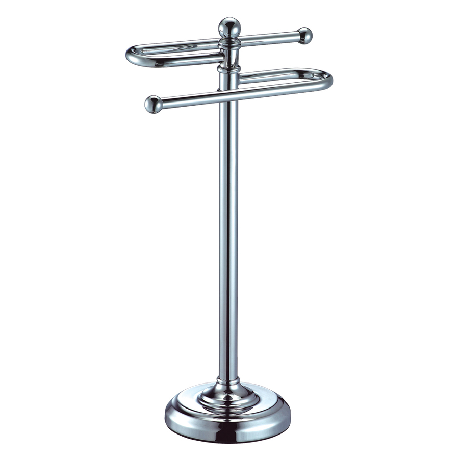 Countertop Towel Ring : Shop Gatco Chrome Freestanding Countertop Towel Ring at Lowes.com