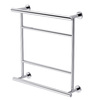 Gatco Latitude 2 Chrome Metal Towel Rack