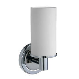 Gatco Latitude 2 4.5-in W 1-Light Chrome Arm Hardwired Wall Sconce