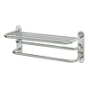 Gatco Chrome Metal Towel Rack