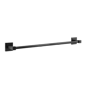 "Gatco 18"" Brooklyn Matte Black Towel Bar"