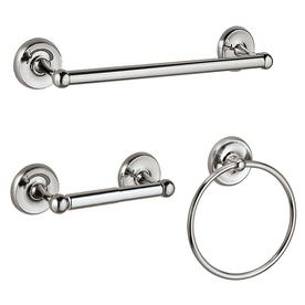Gatco 3-Piece Designer 2 Chrome Decorative Bathroom Hardware Set