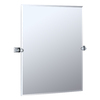 Gatco 40-1/4-in H x 28-1/2-in W Philadelphia Rectangular Frameless Bathroom Mirror with Beveled Edges