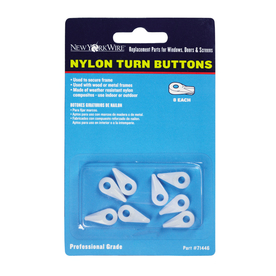New York Wire 8-Pack Turn Buttons