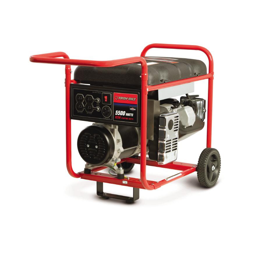 Troy Bilt 5500 Running Watts Portable Generator With Briggs Centurion Watt Wiring Diagram Stratton Engine