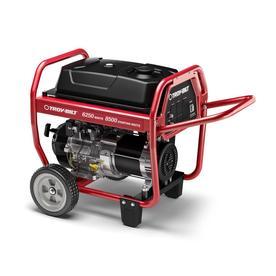 Troy Bilt 6250 Series 6,250-Running-Watt Portable Generator with Engine