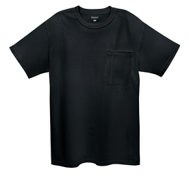 Hanes Large Black Tagless T-Shirt