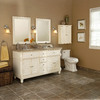 allen + roth Ketterton Cream Casual Bathroom Vanity (Common: 60-in x 21-in; Actual: 60-in x 21.5-in)