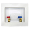 Quarter Turn Ball Valve Copper Sweat Washing Machine Outlet Box