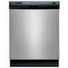 Frigidaire 55-Decibel Built-In Dishwasher with Hard Food Disposer (Stainless Steel) (Common: 24-in; Actual 24-in) ENERGY STAR