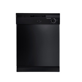 Frigidaire 24-in Built-In Dishwasher with Hard Food Disposer (Black)