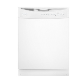 Frigidaire 55-Decibel Built-in Dishwasher (White) (Common: 24-in; Actual 24-in) ENERGY STAR