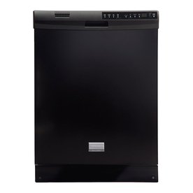Frigidaire Gallery 54-Decibel Built-In Dishwasher with Hard Food Disposer (Black) (Common: 24-in; Actual 24-in) ENERGY STAR