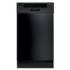 Frigidaire 17-9/16-in Portable Dishwasher with Stainless Steel Tub (Black) ENERGY STAR