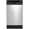 Frigidaire 17-9/16-in Portable Dishwasher with Stainless Steel Tub (White) ENERGY STAR