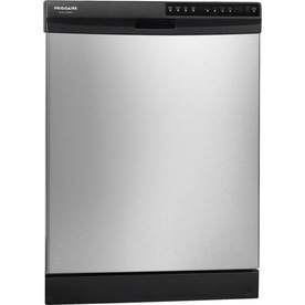 Frigidaire Gallery 2445 Series 54-Decibel Built-In Dishwasher with Hard Food Disposer (Stainless Steel) (Common: 24-in; Actual 24-in) ENERGY STAR