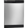 Frigidaire Gallery 2445 Series 24-in Built-In Dishwasher with Hard Food Disposer (Stainless Steel) ENERGY STAR