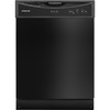 Frigidaire 2406 Series 24-in Built-In Dishwasher with Hard Food Disposer (Black)