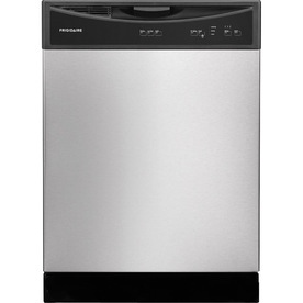 Frigidaire 2406 Series 60-Decibel Built-In Dishwasher (Stainless Steel) (Common: 24-in; Actual 24-in)