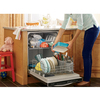 Frigidaire Gallery 2465 Series 24-in Built-In Dishwasher with Hard Food Disposer (Stainless Steel) ENERGY STAR