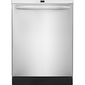 Frigidaire Gallery 2465 Series 53-Decibel Built-In Dishwasher with Hard Food Disposer (Stainless Steel) (Common: 24-in; Actual 24-in) ENERGY STAR