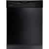 Frigidaire 2411 Series 55-Decibel Built-In Dishwasher with Hard Food Disposer (Black) (Common: 24-in; Actual 24-in) ENERGY STAR