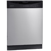Frigidaire 2411 Series 55-Decibel Built-In Dishwasher with Hard Food Disposer (Silver Mist) (Common: 24-in; Actual 24-in) ENERGY STAR
