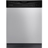 Frigidaire 2411 Series 55-Decibel Built-In Dishwasher with Hard Food Disposer (Stainless Steel) (Common: 24-in; Actual 24-in) ENERGY STAR