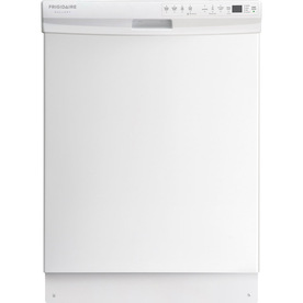 Frigidaire Gallery 2435 Series 24-in Built-In Dishwasher with Hard Food Disposer (White) ENERGY STAR