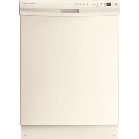 Frigidaire Gallery 55-Decibel Built-In Dishwasher with Hard Food Disposer (Bisque) (Common: 24-in; Actual: 24-in) ENERGY STAR