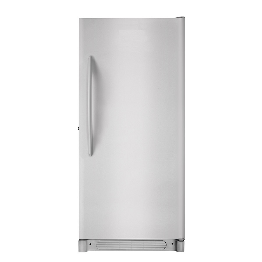 Shop frigidaire 20 2 cu ft frost free upright freezer silver mist energy star at - How to choose a freezer ...