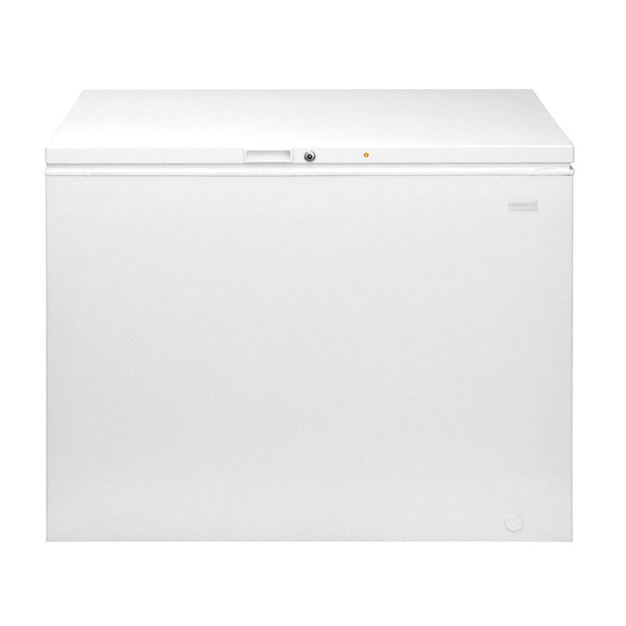 Shop Frigidaire 12 9 Cu Ft Chest Freezer White Energy