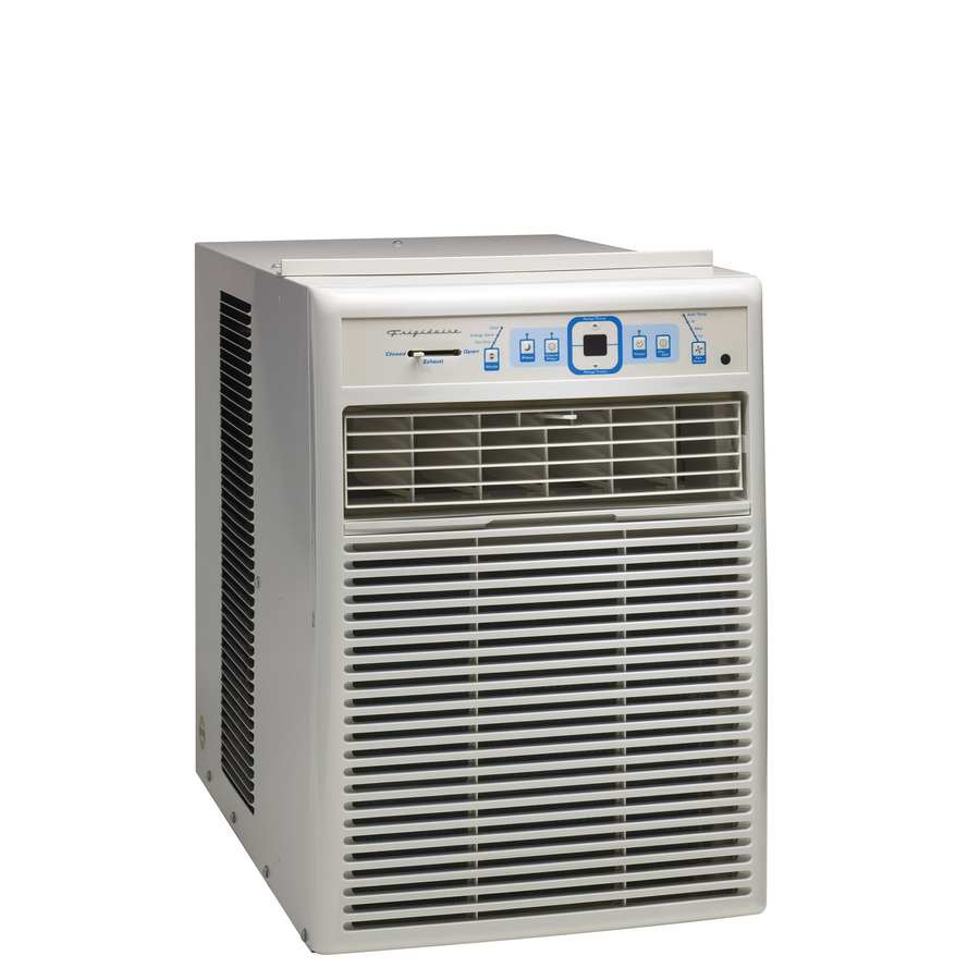 Shop frigidaire 10 000 btu 500 sq ft 115 volts window air for 12 inch high window air conditioner