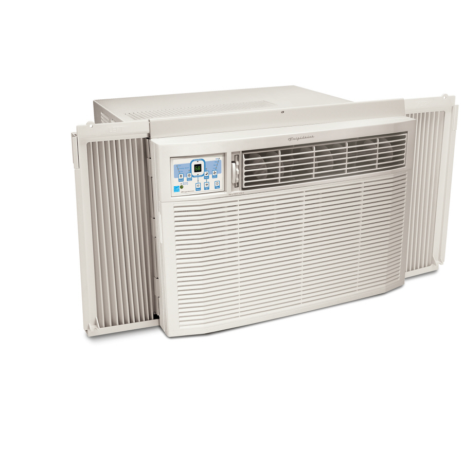 Shop frigidaire 18 500 btu 1170 sq ft 230 volts window air for 12 x 19 window air conditioner