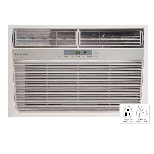 frigidaire 8000 btu 7000 btu window air conditioner lra08pzu1 w heater flawless ebay. Black Bedroom Furniture Sets. Home Design Ideas